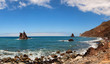 Benijo beach on the north coast of the island of Tenerife, Spain