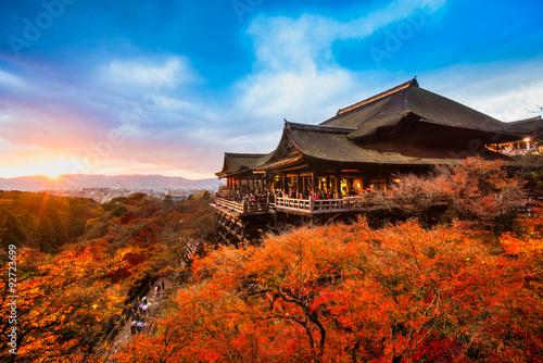 Foto op Plexiglas Japan Kiyomizu-dera Temple in Kyoto, Japan