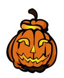 schwebender Halloween Kürbis Bash