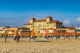 Fototapety View of Versilia coast - Viareggio