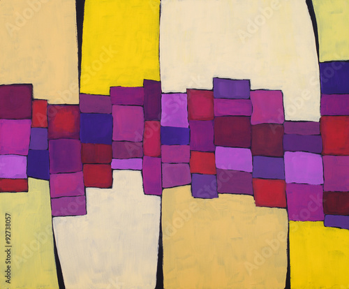 an abstract painting - 92738057