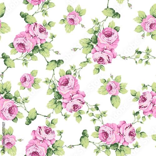 Zdjęcia na płótnie, fototapety, obrazy : Eleni Floral Seamless Pattern
