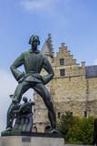 Statua di Lange Wapper, Anversa, Belgio