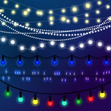 Fototapety Christmas abstract background