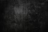 Textured black grunge background - 92810459