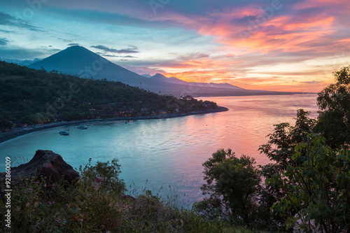 Spoed canvasdoek 2cm dik Bali Bali island