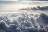 Fototapety Beautiful blue sky background