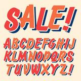 Handmade script font. Comic letters. Funny alphabet for decoration - 92877204