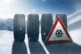 Fototapety Snow Tires