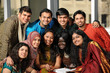 Group of Ethnic College Students