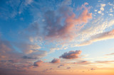 Gentle Sky Background at Sunset time, natural colors, may use - 92910475
