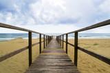 passaggio tra le dune