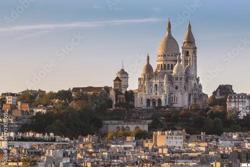 Plagát La Basilique du Sacré Cœur de Montmartre