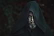 Black warlock portrait