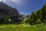 Bergalm im Schweizer Kanton Wallis