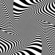 Illusion of torsion twisting movement.