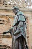 Estatua de Fray Luis de León, Salamanca, Castilla y León, España