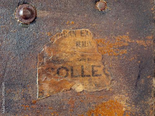 Obraz texture antique chest