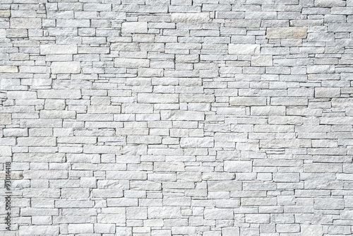 Papiers peints Brick wall hellgraues Mauerwerk, Hintergrund