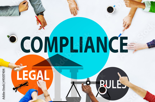 poster of Compliance Legal Rule Compliancy Conformity Concept