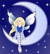 Obrazy na płótnie, fototapety, zdjęcia, fotoobrazy drukowane : good night midnight fairy