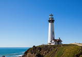 lighthouse, ocean, light, coast, maine, sea, house, sky, water,