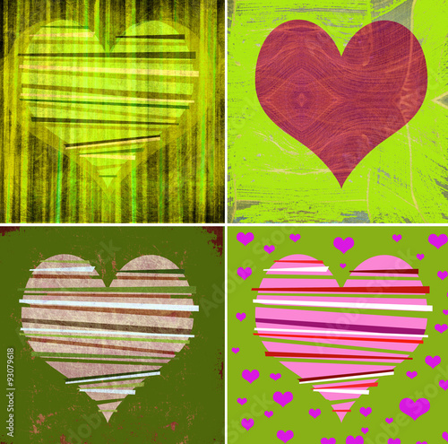 collection of decorative hearts © jdoms