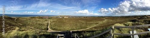 Kampen panorama view, Sylt poster