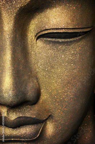 Zdjęcia na płótnie, fototapety na wymiar, obrazy na ścianę : The face of Buddha