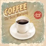 Fototapety coffee retro