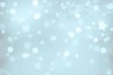 Fototapety bläulich-silber schimmernder Weihnachts- bzw. Winterzeithintergund