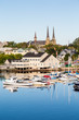 Fishing Boats and Church in Charlottetown