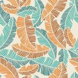 banana leaves pattern - 93251294