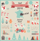 Christmas Infographic Set- French Version