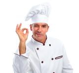 Fototapety Chef man.