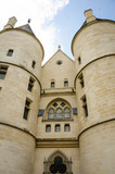 The tower of the Conciergerie, where Marie-Antoinette and others were imprisoned before their execution by the guillotine during the French Revolution.  - 93267226