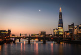 The Shard and River Thames, London