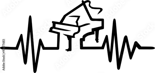 Grand Piano frequence