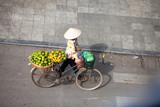 Hanoi, Vietnam, December 8, 2014: Life in Vietnam- Hanoi,Vietnam Street vendors in Hanoi