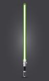 Spada laser verde