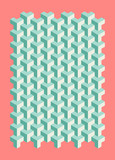 geometric pattern poster