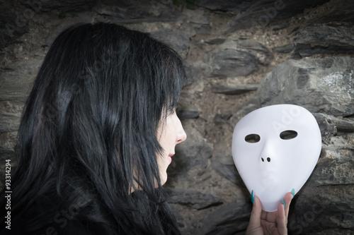 Masks image плакат