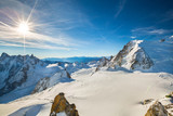 Fototapety Mont Blanc du Tacul