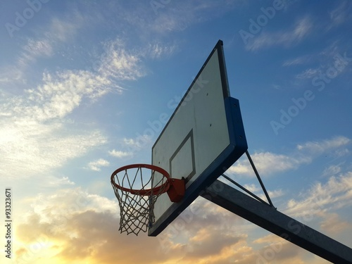 Poster Basketball hoop