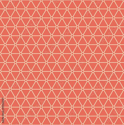 minimalistic pink triangle grid pattern