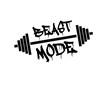 Постер, плакат: beast mode
