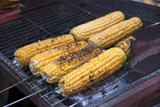 roasted corn on the grill - 93374288