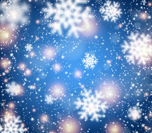 Naklejka Winter Background.
