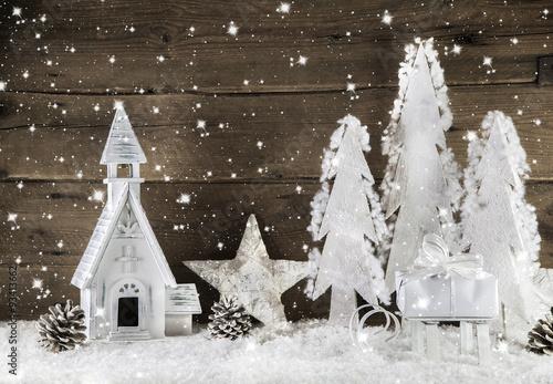 romantische weihnachtszeit dekoration zu weihnachten in. Black Bedroom Furniture Sets. Home Design Ideas