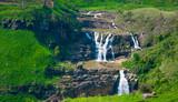 St.clair waterfall at Thalawakele in Sri Lanka